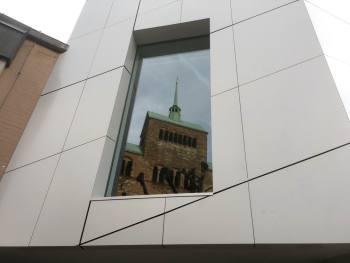 Der Domschatz Minden beherbergt eine der bedeutendsten Sammlungen christlicher Kunst in Deutschland. Der Dom ist nur 50 Meter von der Schatzkammer entfernt. Foto: DVM/Amtage