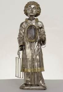 Der Heilige Laurentius ist der Nebenpatron des Mindener Domes. Foto: DVM