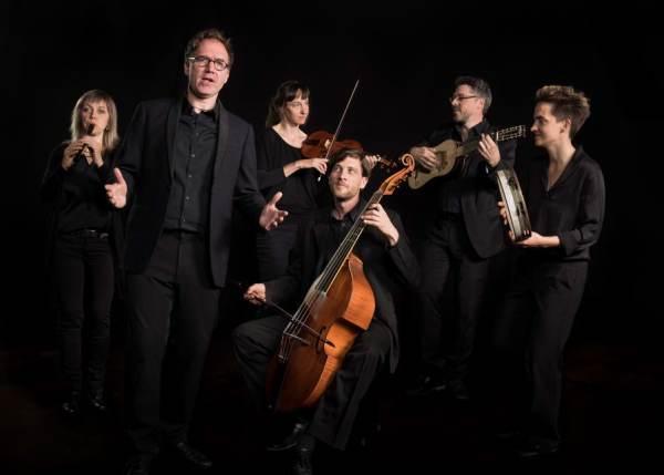 The Playfords aus Weimar faszinieren mit ihrer mittelalterlichen Musik. Foto: Tristan Vosty