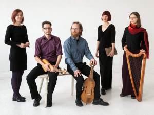 Das Mittelalter-Ensemble Nimmersêlich aus Leipzig zu Gast in Minden. Foto: PR
