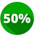 logo reduction impot 50%