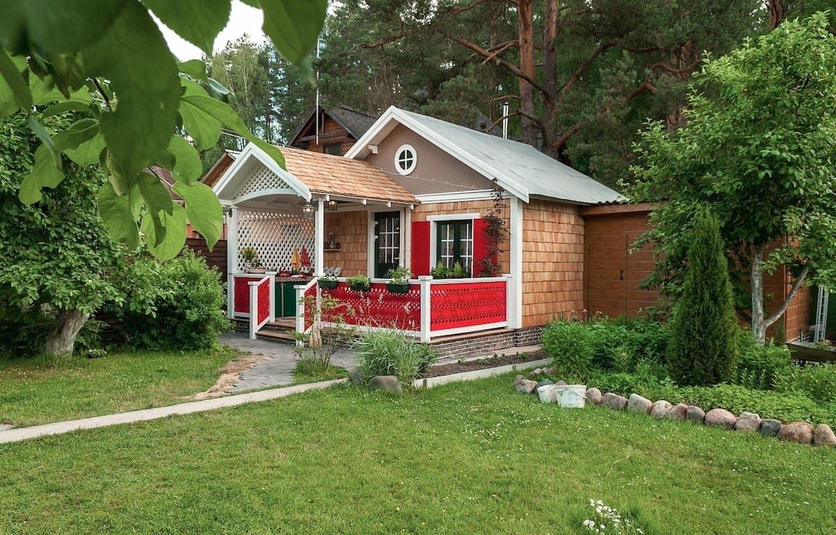 Elegir un lugar adecuado para una casa de campo, un momento importante de su construcción.