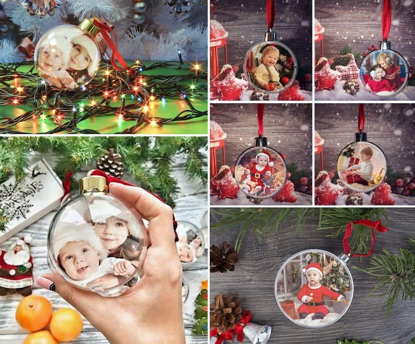 Семейный архив на новогодней елке