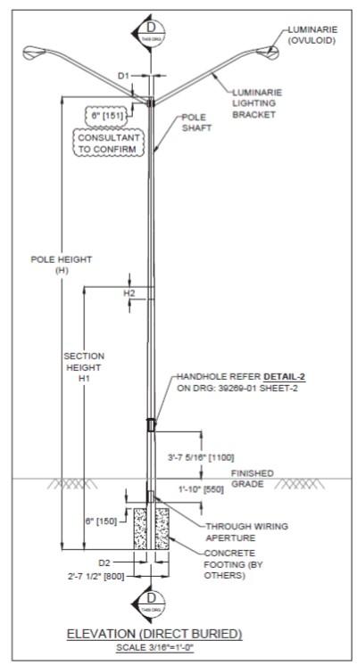 Light Pole, Sign Structure Design & Fabrication Canada