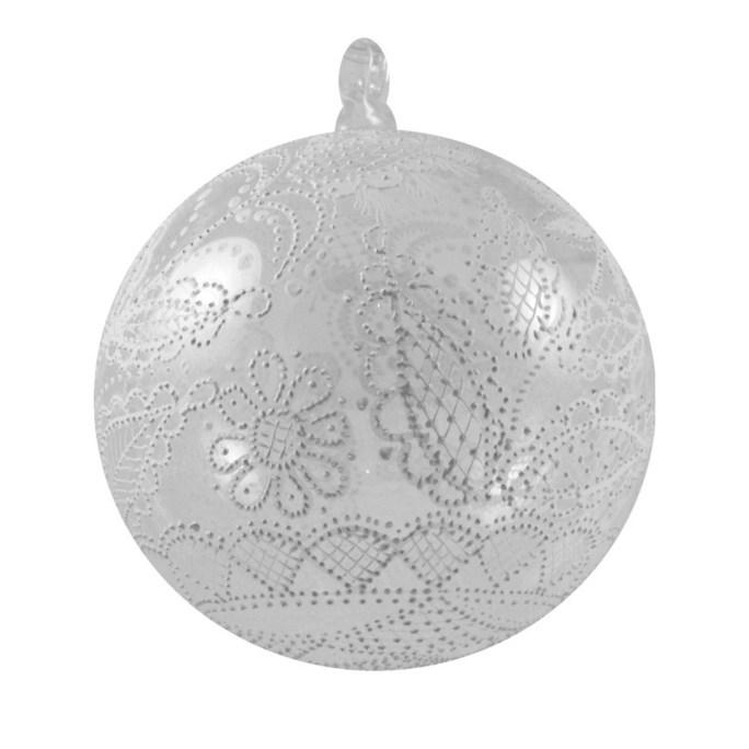 Bombka malowana igłą - średnia