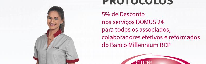 DOMUS 24®   Protocolos - Millennium BCP