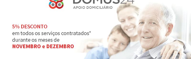 CAMPANHA NATAL - 5% DESCONTO em todos os serviços contratados durante os meses de novembro e dezembro