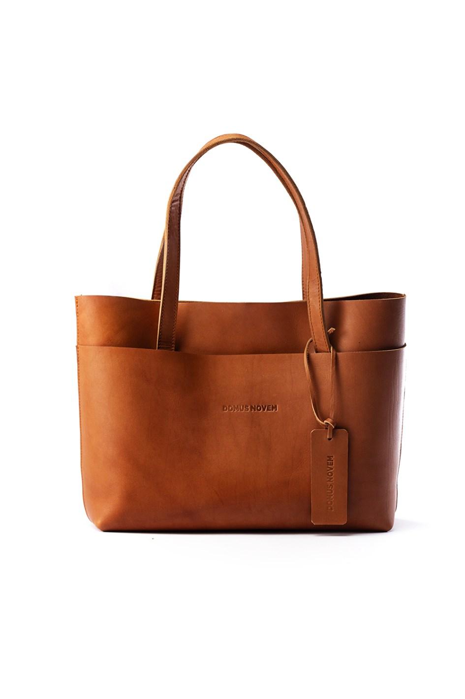 Arwen leather tote bag