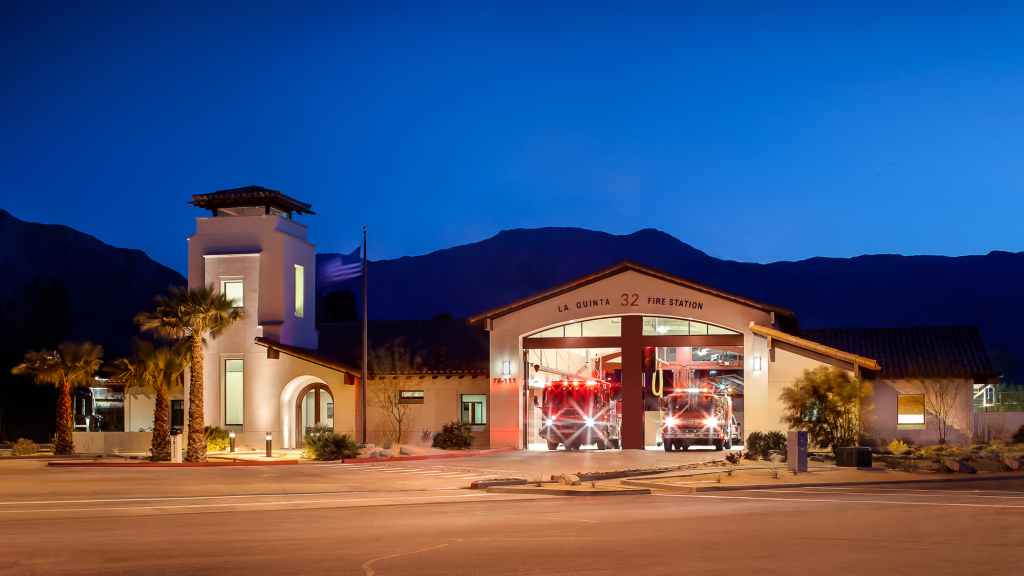 Public Architecture La Quinta Fire Station
