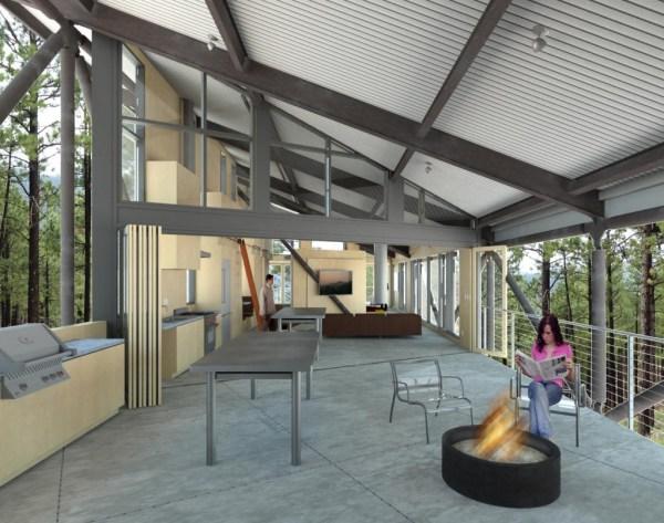 Treehouse Truss - Domusstudio Architecture