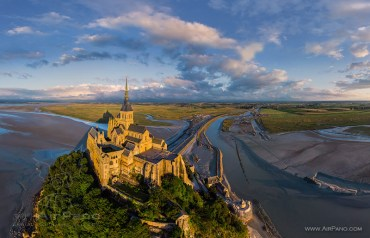 Mont Saint-Michel, en France