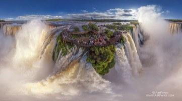 Chutes d'Iguazu, entre Brésil et Argentine