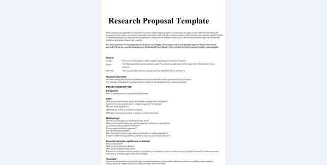 Phd Research Proposal Sample Management – HSR Student Handbook
