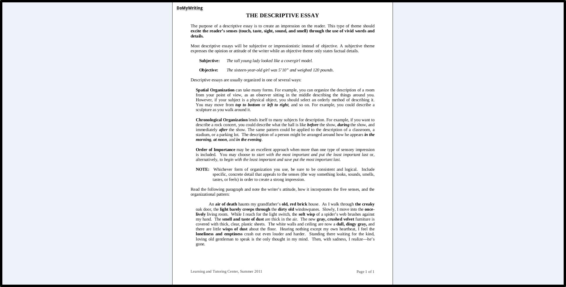 work order form sample
