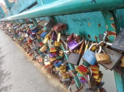 Locks on Tumski Most