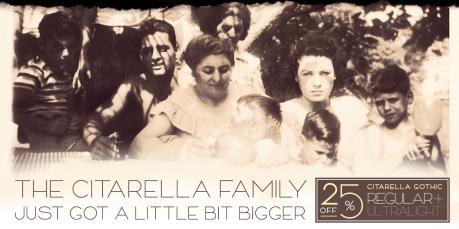 Citarella Gothic Family