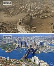 Sydney, Australia - 1932 And Now