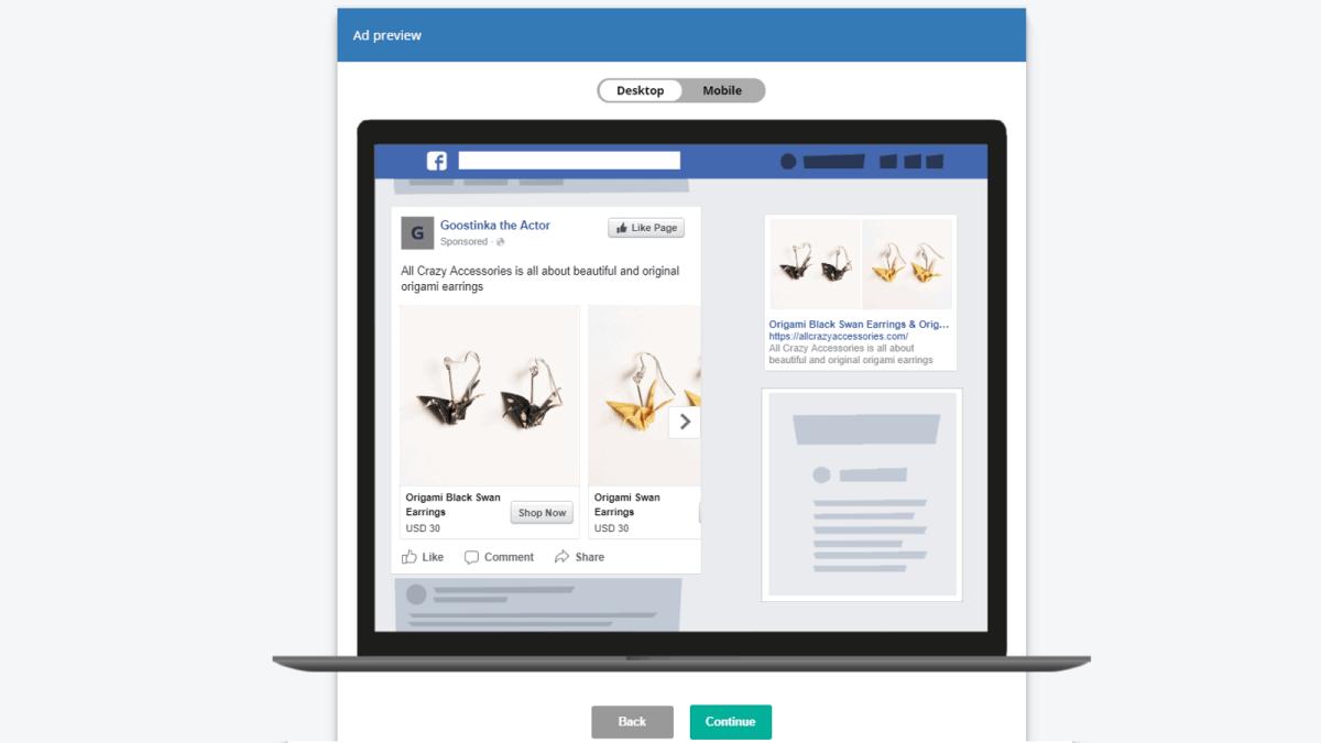 Ads de Facebook