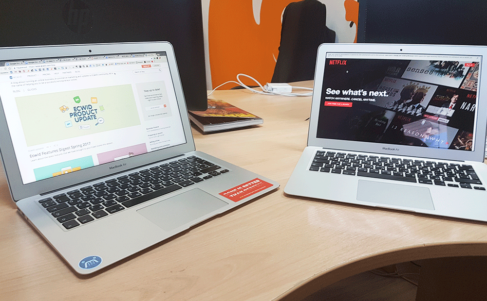 Отдельные компьютеры для работы и развлечений помогут избежать соблазна смотреть Netflix на работе
