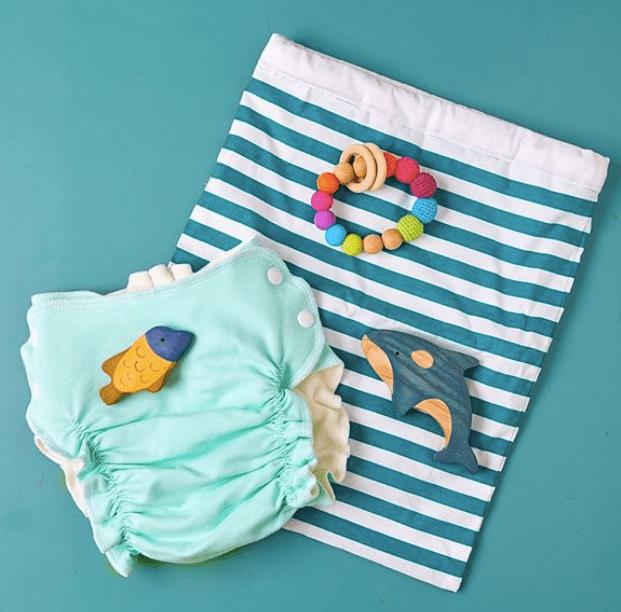 Хорошая идея для сопутствующего товара – непромокаемый мешочек