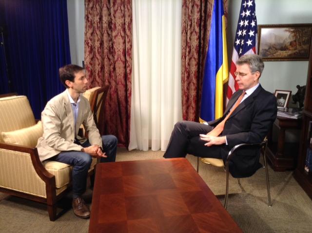 ABC News Radio correspondent AARON KATERSKY with US