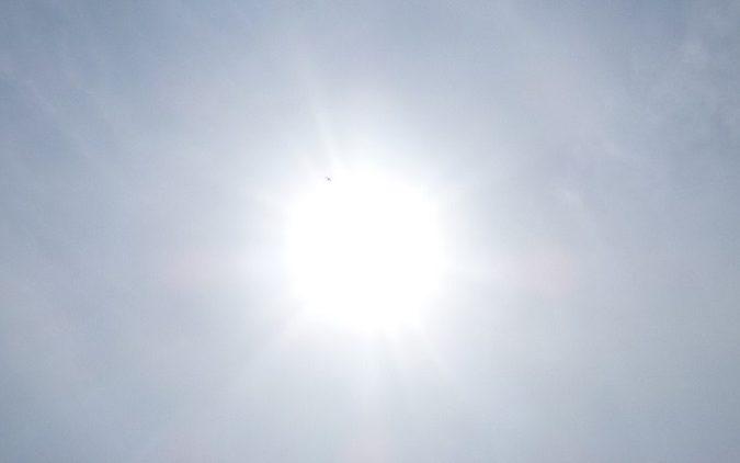 太陽の左上がF-35B