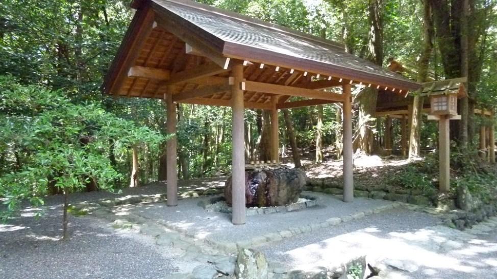 倭姫宮の手水舎