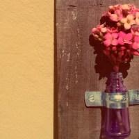 Flor em vidro de esmalte: o artesanato