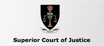 Ontario Superior Court of Justice-private