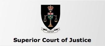 Ontario Superior Court of Justice-private