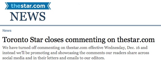 Toronto Star Commenting-private