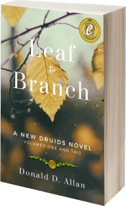 leaf and branch 3d cover