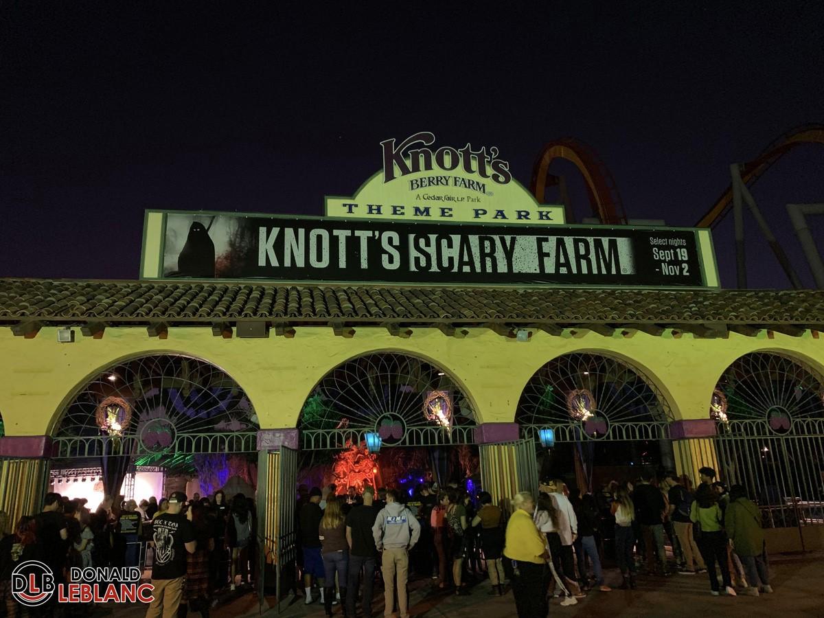 Knott's Scary Farm opening night 2019