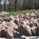 Foundation Rocks - Foye Cabin
