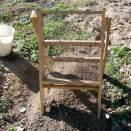 Artifact sifting tray - Foye Cabin