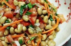 Salada de Soja com Legumes