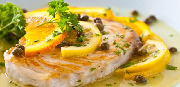 Filé de Peixe ao Molho de Limão