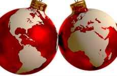 Festa de Natal em Países e Culturas Diferentes