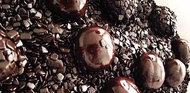 Brigadeiro de Chocolate Meio Amargo e Chocolate ao Leite