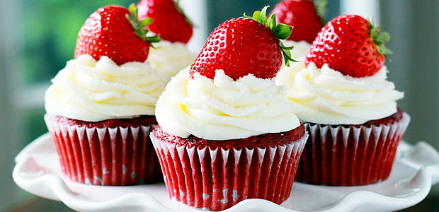Cupcake Red Velvet, Saboroso Cupcake Veludo Vermelho