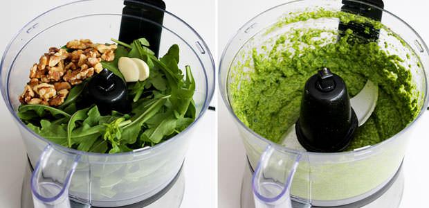 Como Fazer Molho Pesto com Nozes, Manjericão e Salsinha para Assados, Massas e Saladas
