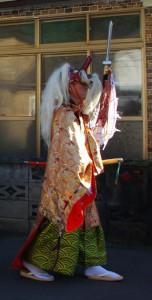 乙部町のお祭り2 猿田彦さま