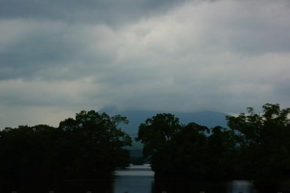 駒ヶ岳は雲の中