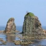 サンタロ岩:函館市(旧恵山町)