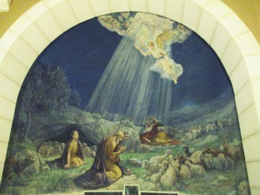 Painting from the Shepherd's Field church