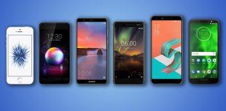 iPhone SE, LG K30, Huawei Mate SE, Nokia 6.1, ZenFone 5Q ve Moto G6