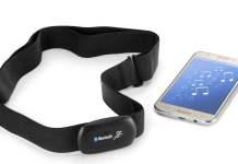 Bluetooth nabız ölçer kemer