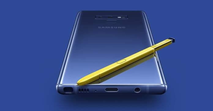 Samsung Galaxy Note 9 video inceleme