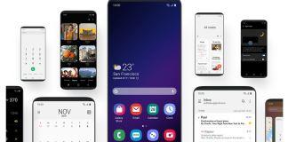 Galaxy Note 9 için One UI
