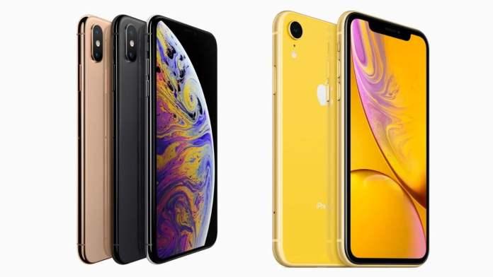iPhone Xs ve iPhone Xr